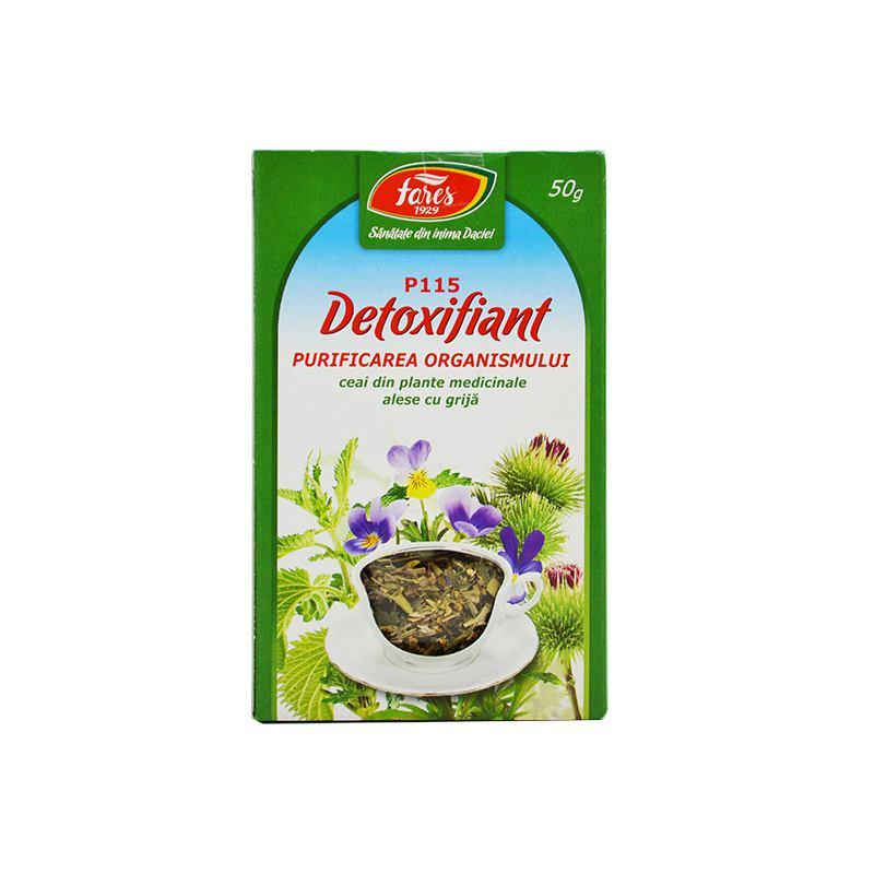 ceai detoxifierea organismului fares