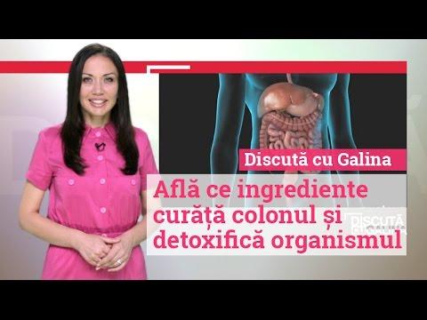 detoxifierea și curățarea colonului