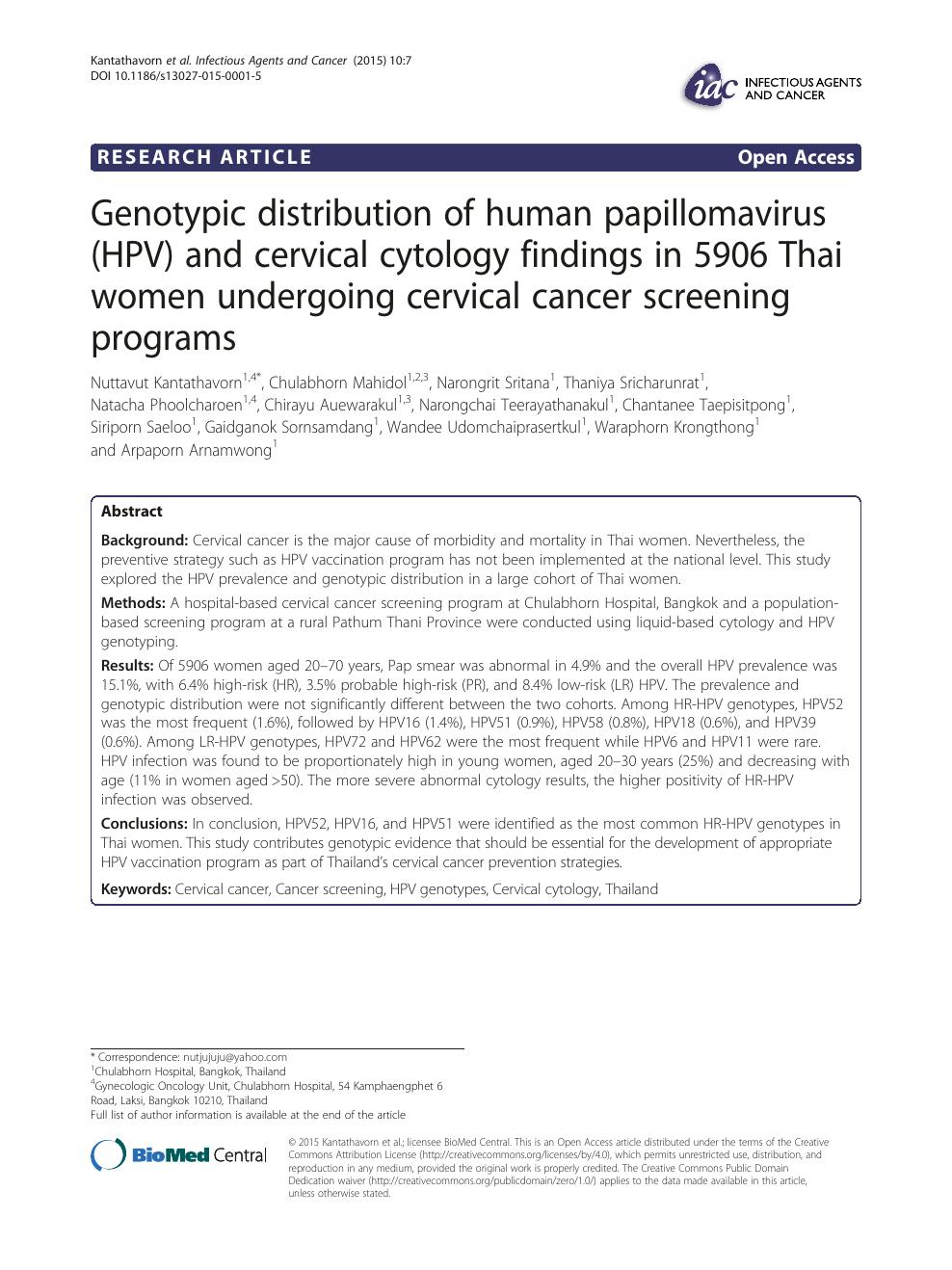 human papillomavirus article)