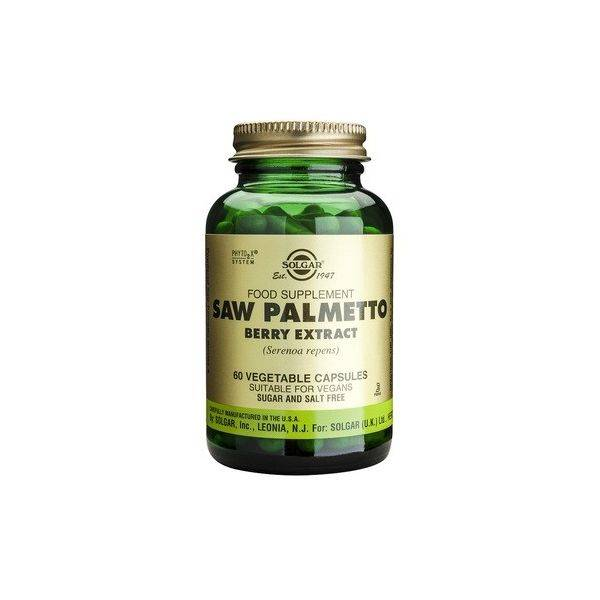 Saw Palmetto Berry Extract 60 cps - Solgar | Eherbal