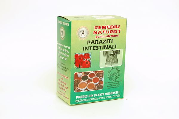 ceai pentru viermi intestinali)