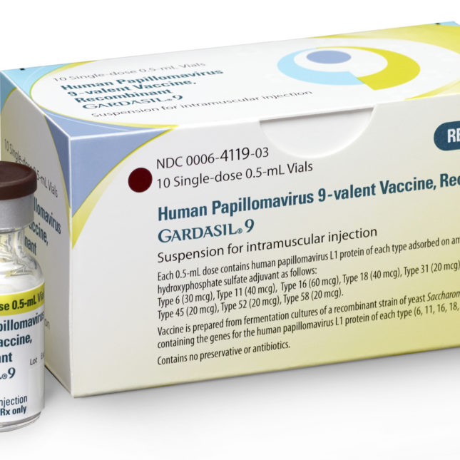hpv gardasil patient information)