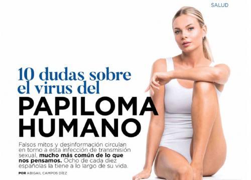 virus papiloma una mujer