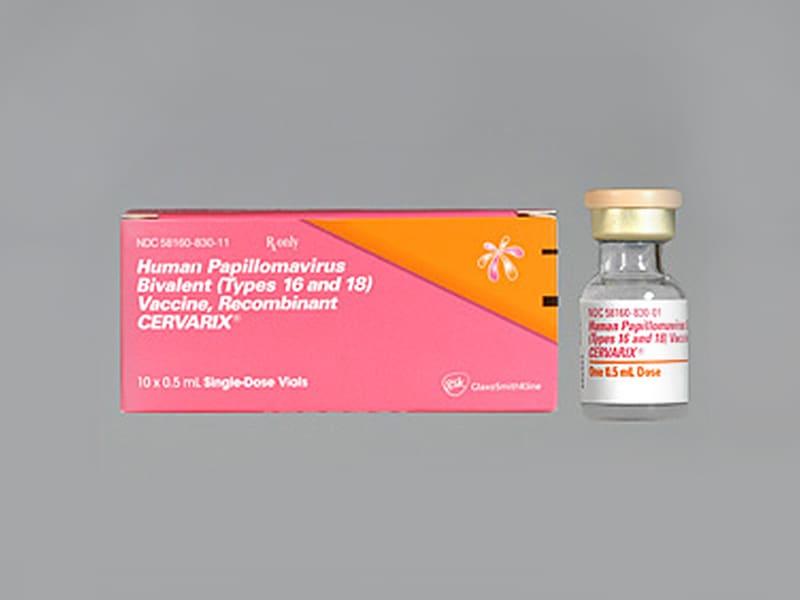 hpv vaccine cervarix vierme de masă a pielii