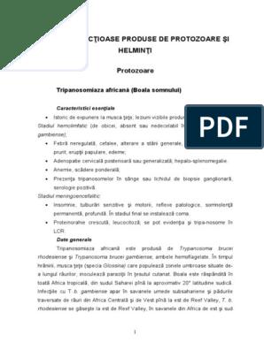 35_boli Infecţioase Produse de Protozoare Şi Helminti