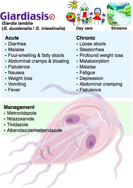 paraziti alinia