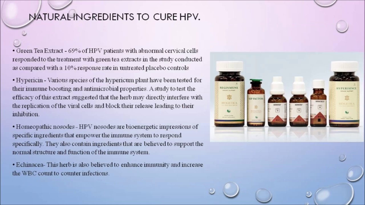 Hpv warts cure
