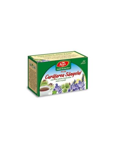 Ceai din plante medicinale pentru curatarea sangelui 50g