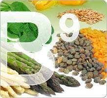 anemie vitamine b9
