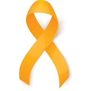 Sarcoma cancer ribbon color