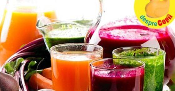 program de detoxifiere cu sucuri naturale)