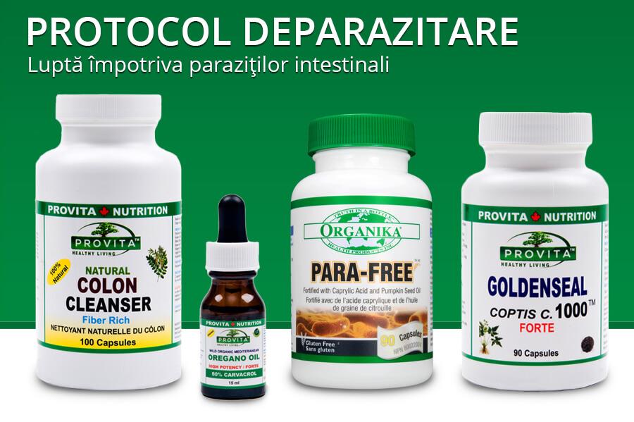 paraziti tratament antibiotic