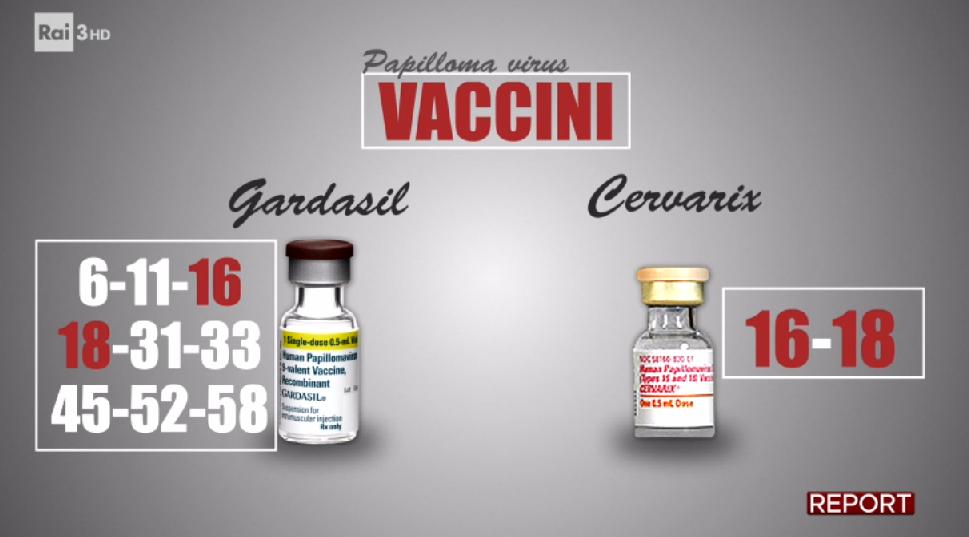 vaccino papilloma virus infezione)