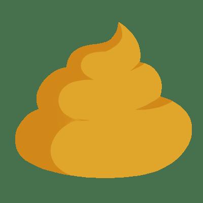 yellow diarrhea)