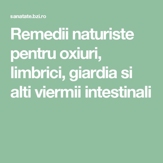 medicină pentru giardie și viermi)