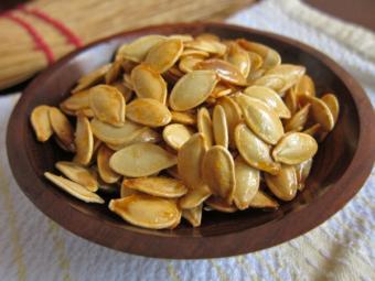 seminte de dovleac cu miere pentru viermisori)