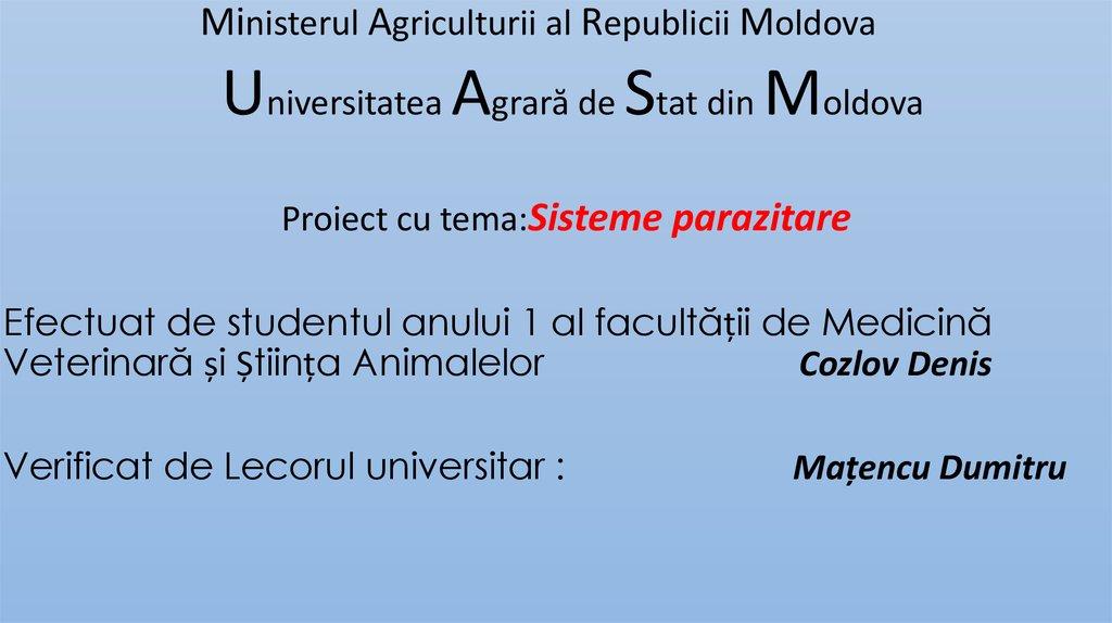 măsuri pentru prevenirea infecțiilor parazitare)