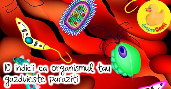 paraziții pot provoca constipație severă?
