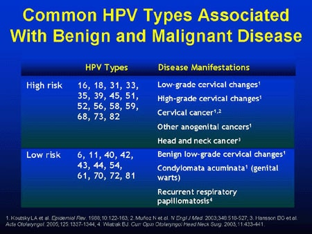 hpv high risk warts)