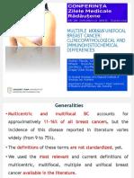 Chirurgia conservatoare în cancerul mamar – sectorectomia și ganglionul santinelă