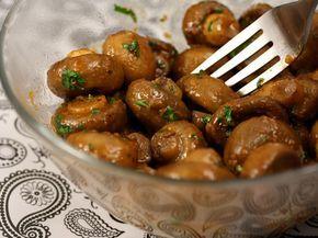 ciuperci brune sote