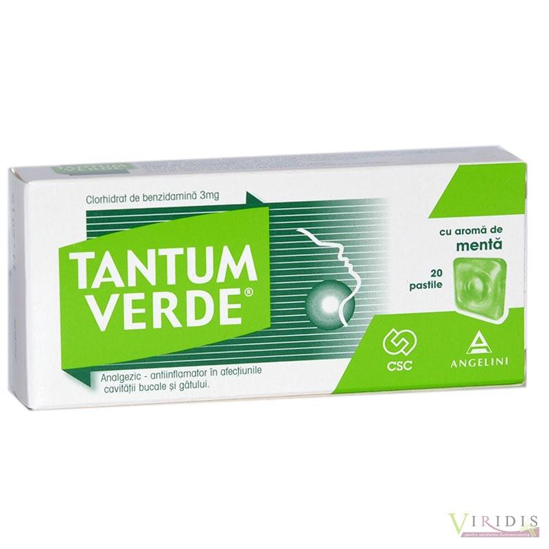 Influsept 3 mg pastile Prospect benzydaminum
