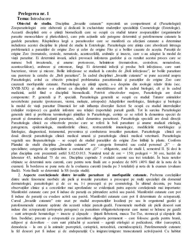 paraziți și vectori 2020 factorul de influență gestionarea unui forum de viermi pentru copii