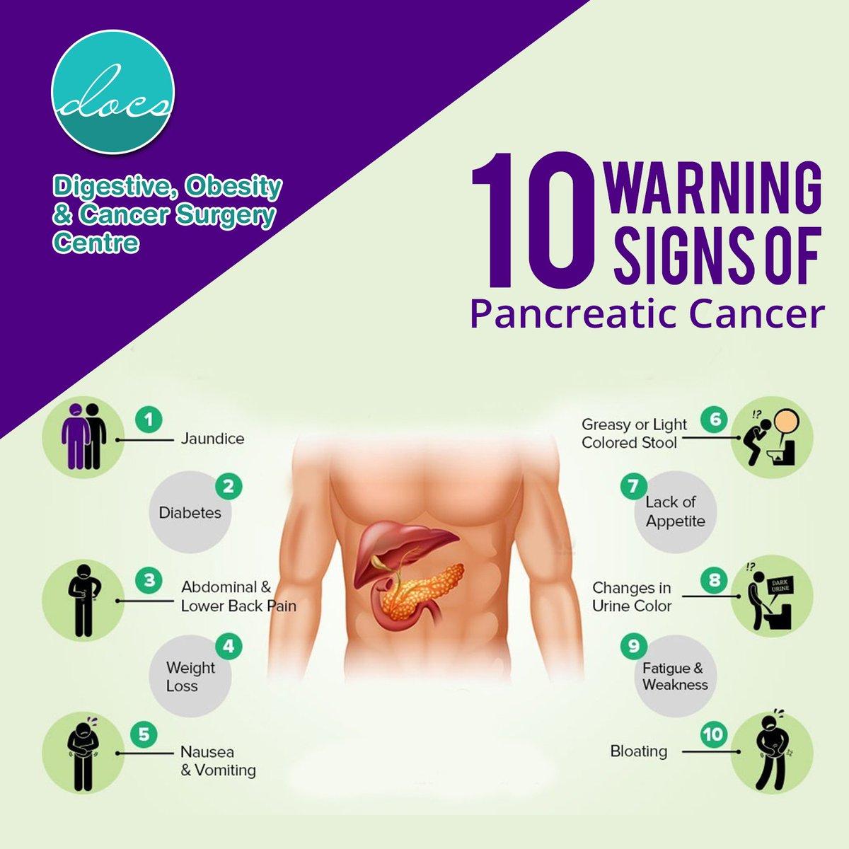 pancreatic cancer abdominal bloating)