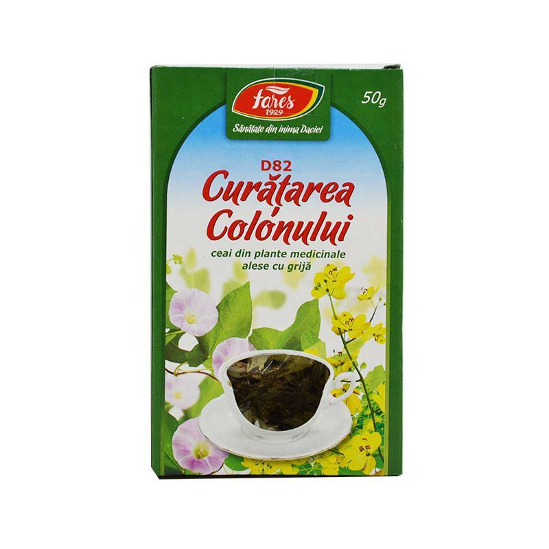 Ceai Curatarea Colonului 50g Fares - Paradisul Verde