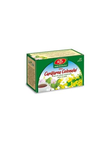 Ceai Curatarea Colonului (D82) 50g FARES - Plantini