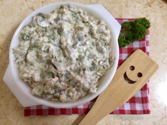 ciuperci c u maioneza)