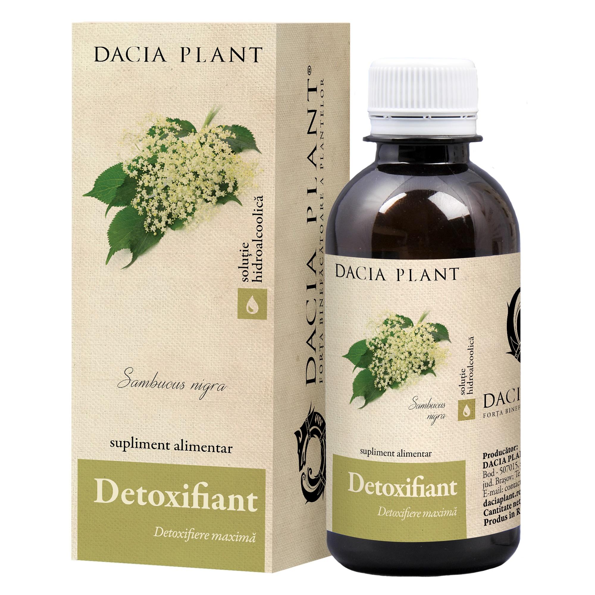 Detoxifiant, ml, Dacia Plant : Farmacia Tei