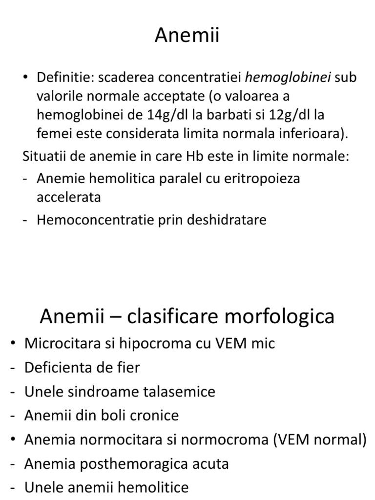 Anemia - Tipuri, cauze, simptome și tratament