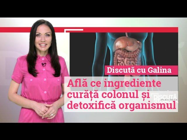 dezintoxică ți colonul)