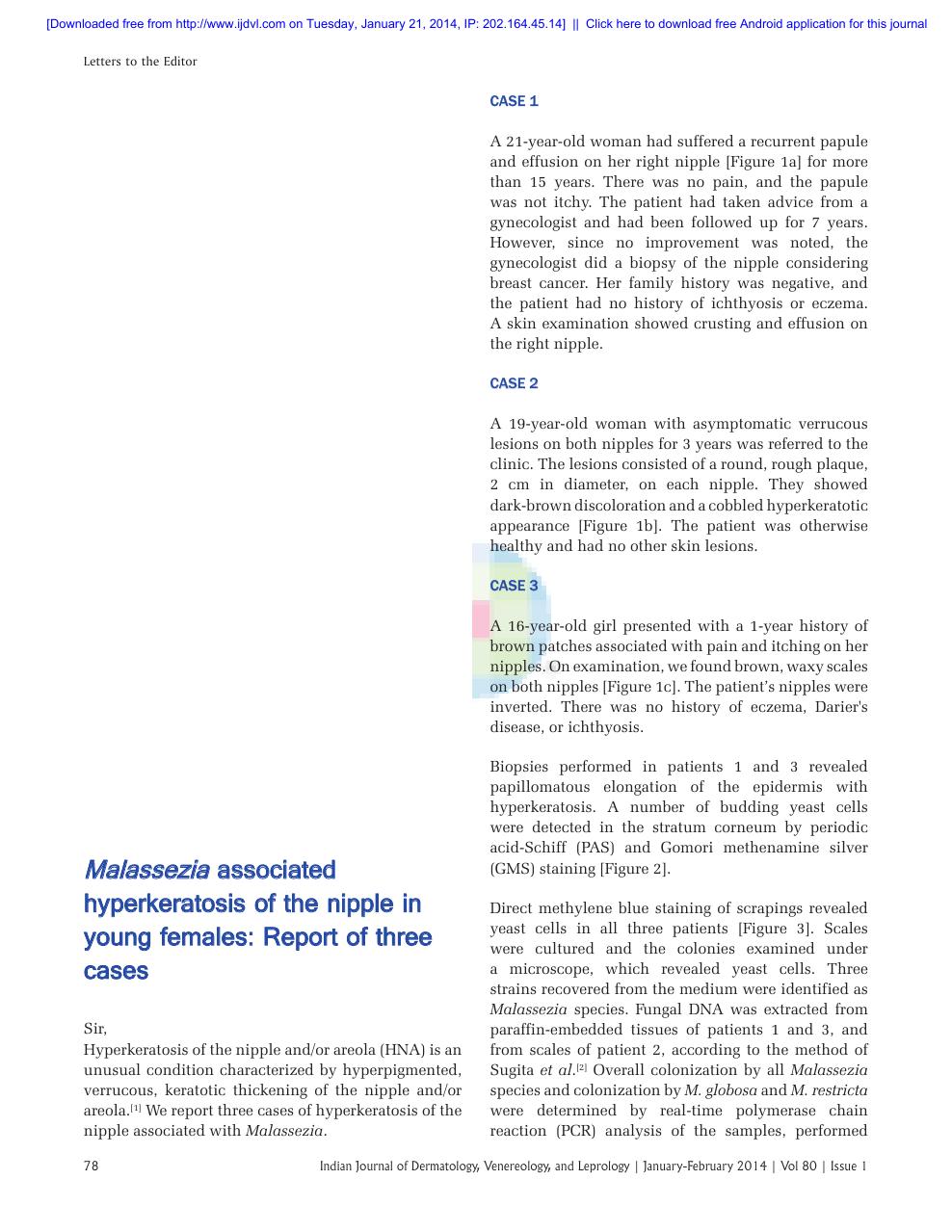 confluent and reticulated papillomatosis ijdvl)