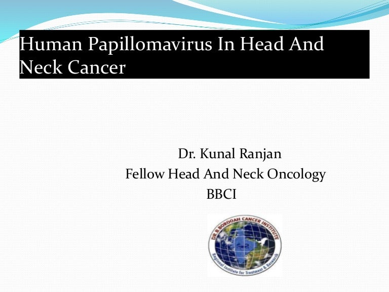 hpv in head and neck cancer ppt)