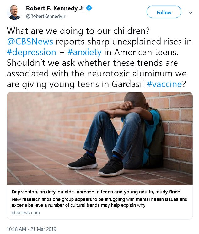 hpv vaccine side effects depression