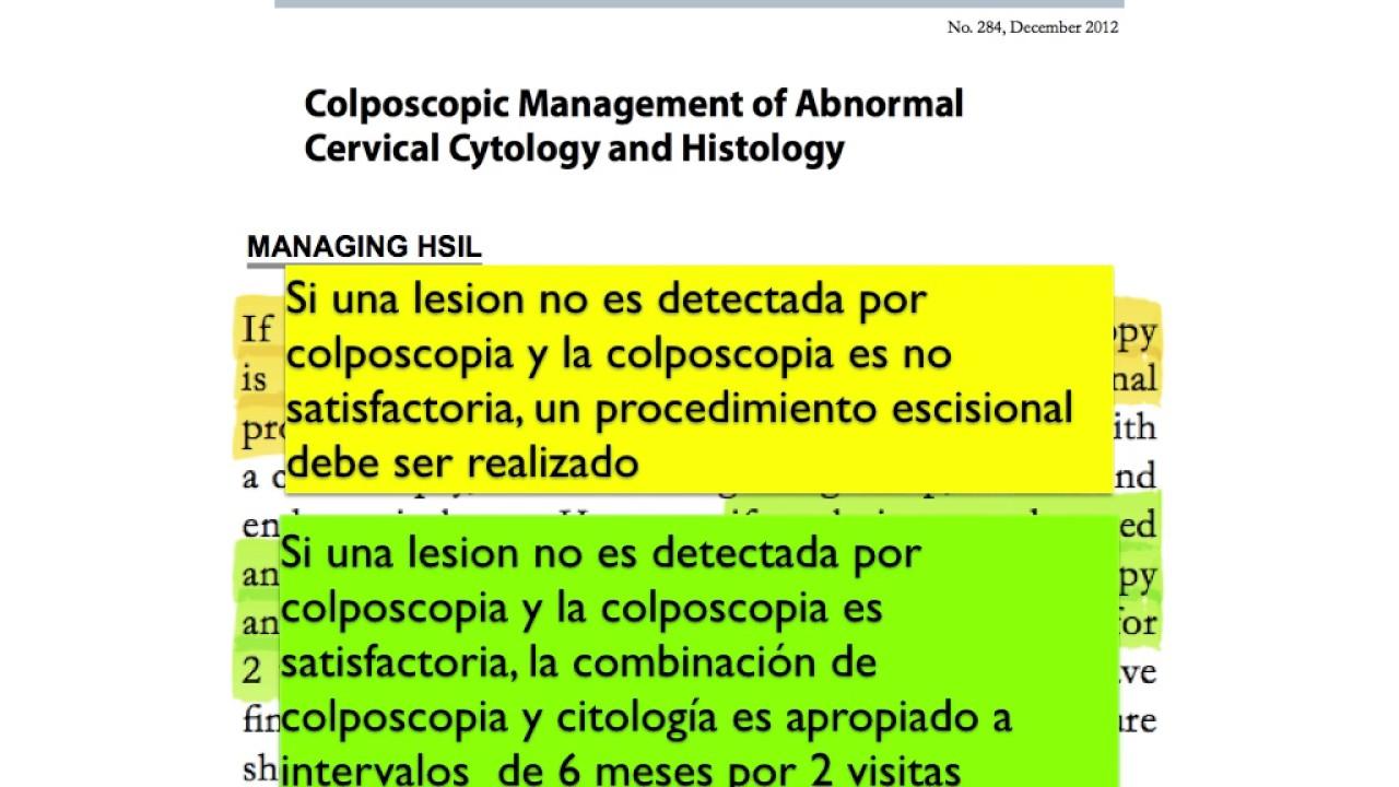 papanicolaou anormal y colposcopia normal ce paraziți sunt la o persoană