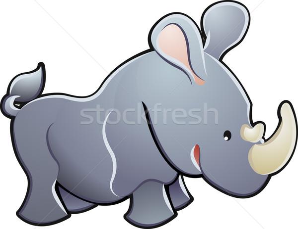 Pernă - Rinocer