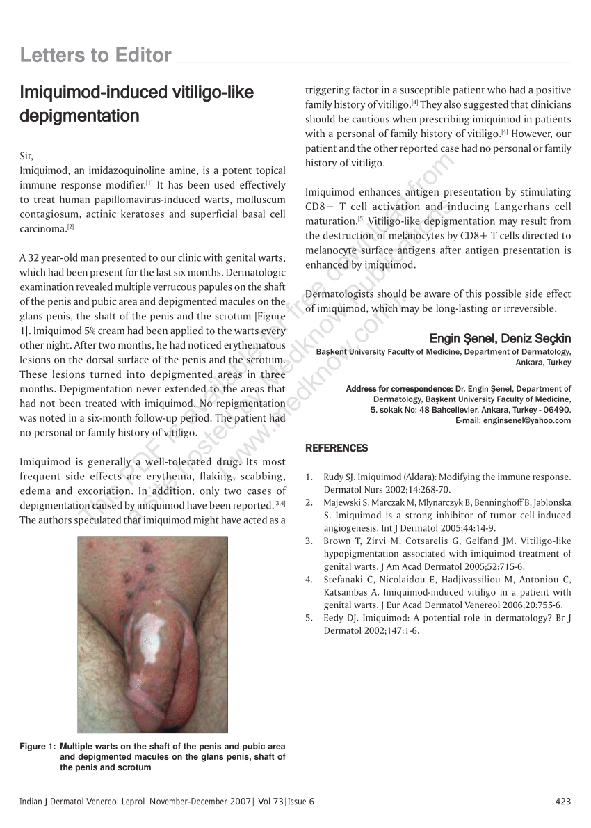 side effects of hpv cream
