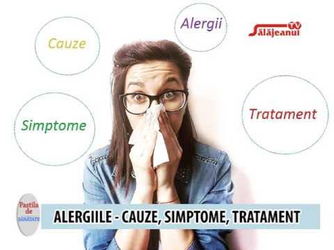 tratamentul alergiei la vierme