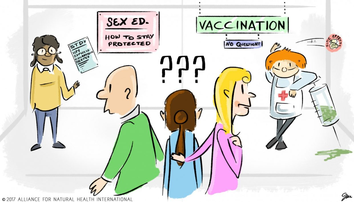 hpv vaccine side effects weight gain)