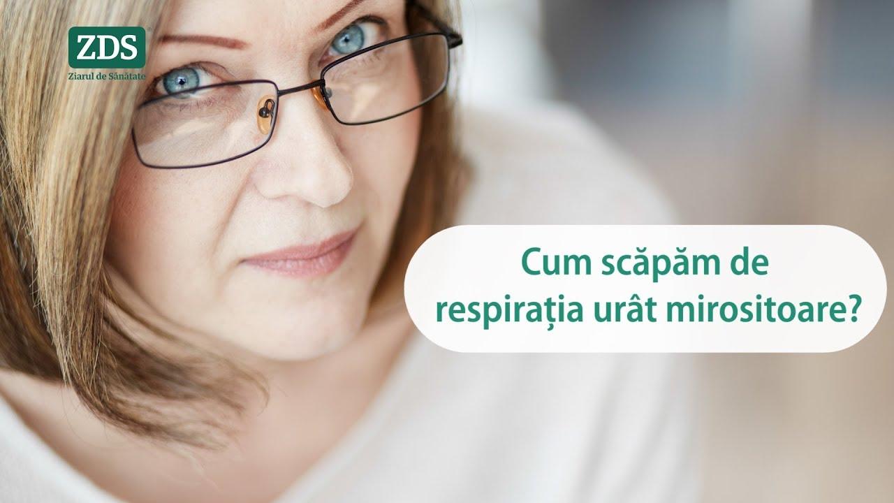 respiratie urat mirositoare pe nas)