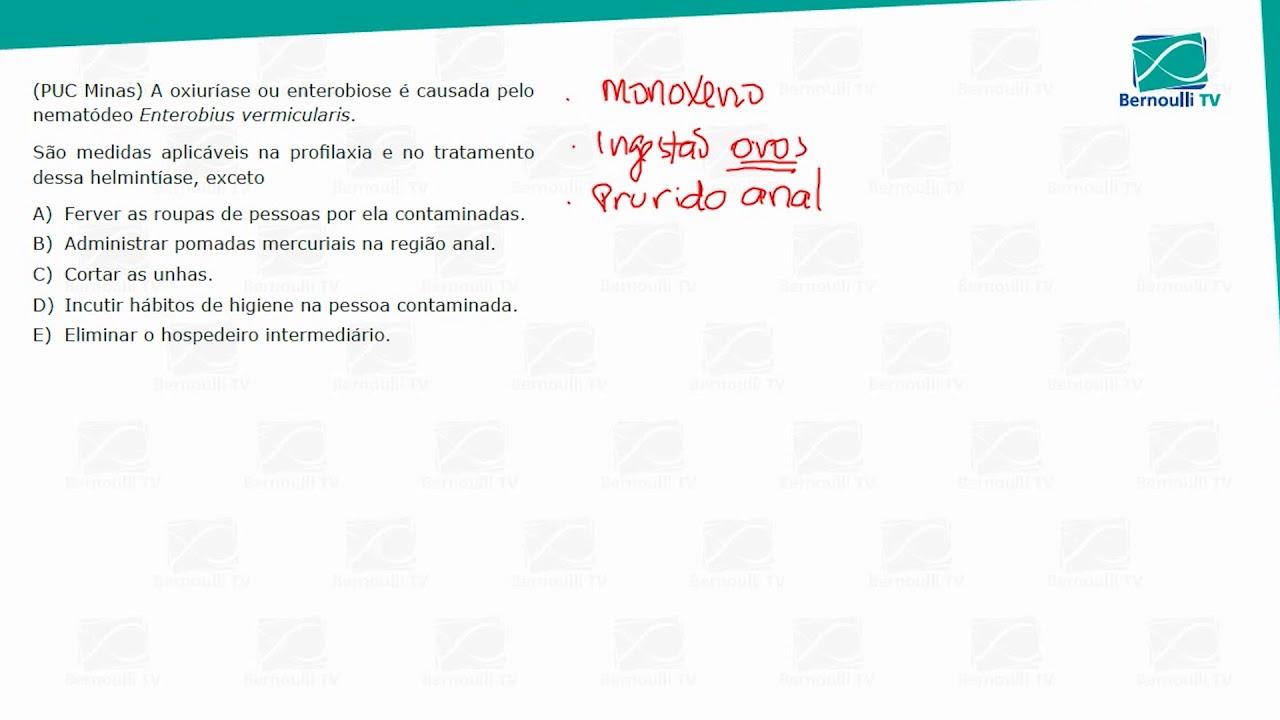 enterobius vermicularis profilaxia)