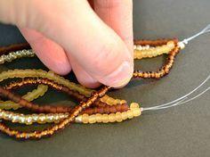 Lant cu margele albe stil perle false- 20cm | arhiva info-tecuci.ro