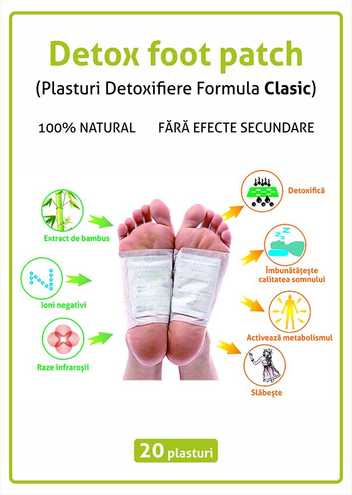 plasturi detoxifiere pentru talpi