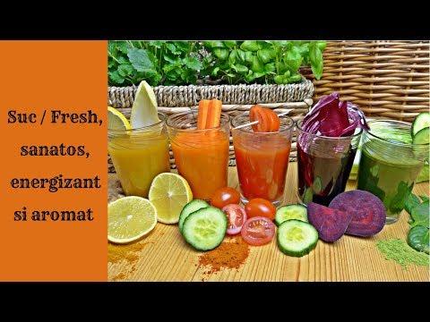 Sucuri naturale pentru detoxifiere si slabire, 5 sucuri din legume pentru slăbit — Doza de Sănătate