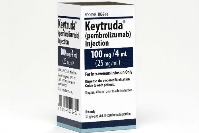 gastric cancer keytruda approval)