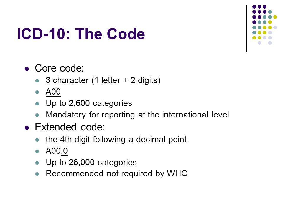 rectal cancer icd 10 code)