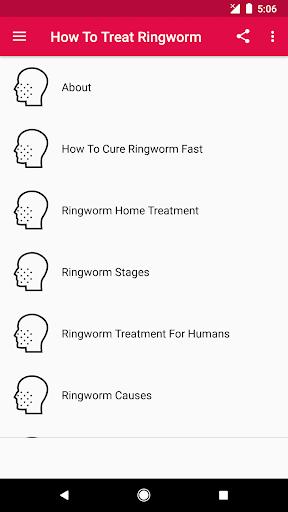 ringworm în engleză